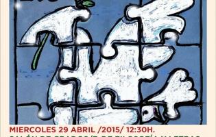 CARTEL ESPAÑA Y PALESTINA COOPERACIÓN UCA 2015