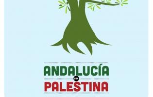 Cartel Olivo Andalucía - Palestina
