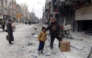 Foto UNRWA. Campamento de Yarmouk. Siria (1)