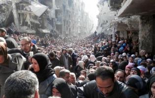 Foto UNRWA. Campamento de Yarmouk. Siria (2)