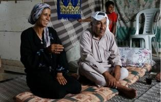 Foto UNRWA. Gervasio Sánchez con los refugiados de Palestina (8)