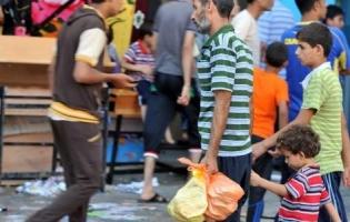Foto UNRWA. Reparto de alimentos a miles de familias desplazadas en Gaza (4)
