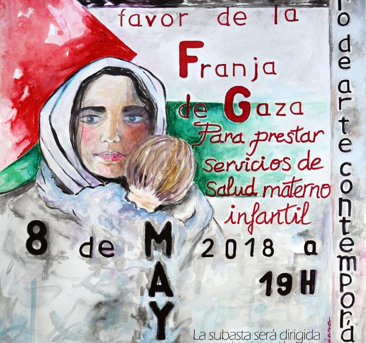 ASECOP y APLAMA organizan una subasta de obras plásticas en Málaga a favor de proyectos en Gaza
