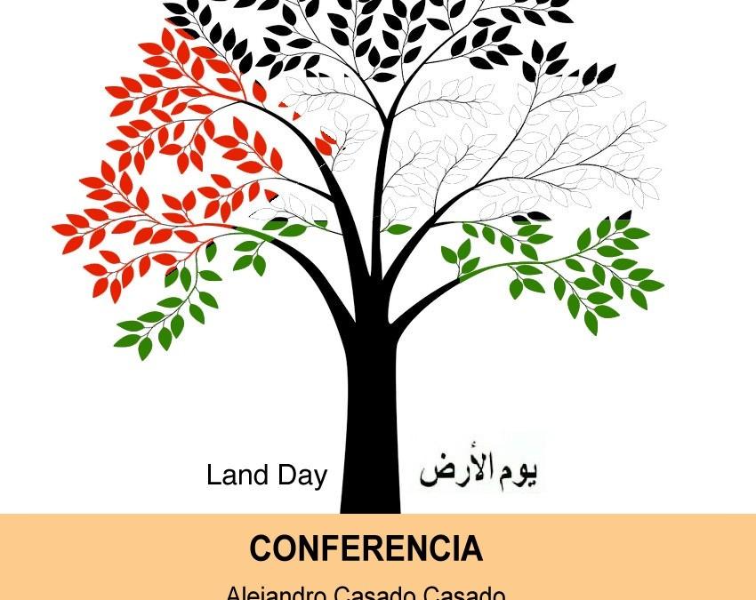 ASECOP conmemora con una conferencia el 'Día de la Tierra Palestina: un expolio que no cesa'